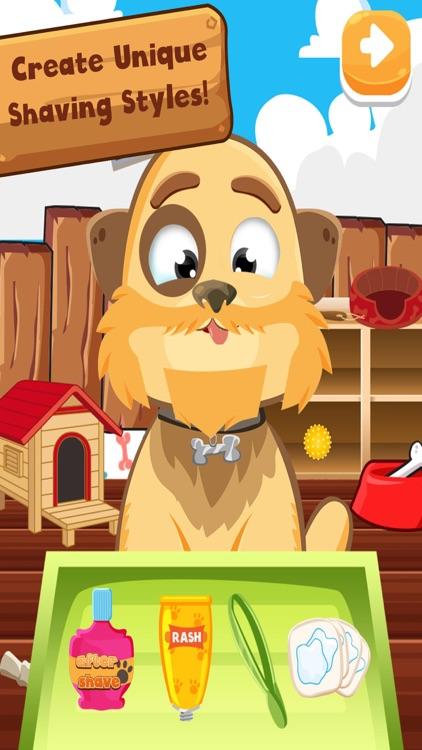 Pet Shavers Grooming Haircut & Salon Spa - Free Games For Kids screenshot-3
