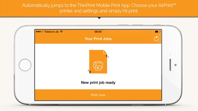ThinPrint Mobile Print - Remote App and Virtual Desktop Printing on