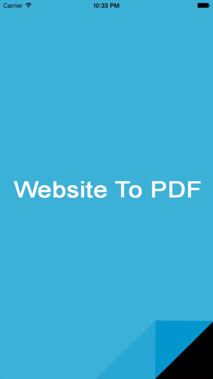 Website To PDF