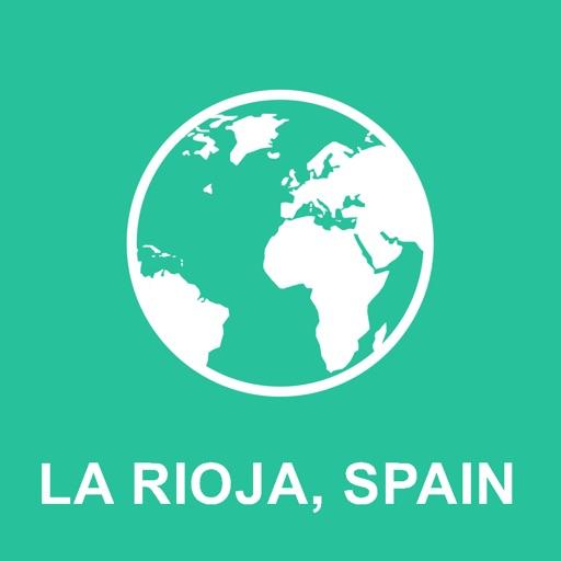 La Rioja, Spain Offline Map : For Travel by Evgeny Zaturanov