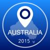 Australien Offline Karte + Stadtführer Navigator, Sehenswürdigkeiten und Verkehr