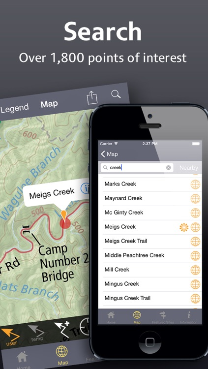 Equator Maps: Great Smoky Mountains National Park