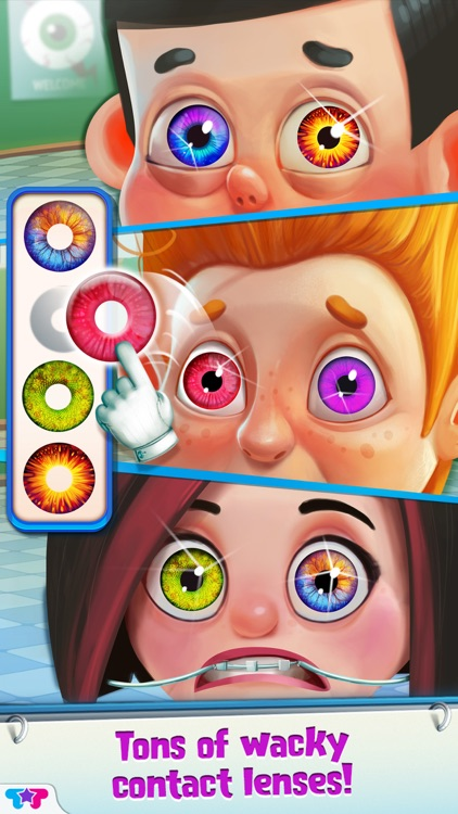 Crazy Eye Clinic - Doctor X Adventures screenshot-3