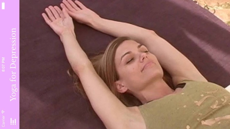 Restorative Yoga Therapy for Depression-Laura Hawes-VideoApp screenshot-3