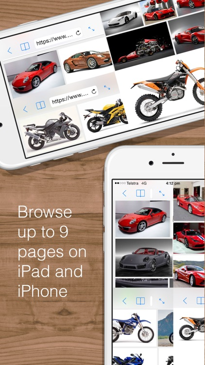 Split Web Browser Free: Fast Multitasking and Full Screen Multiple Tab Browsing for iPhone and iPad screenshot-4