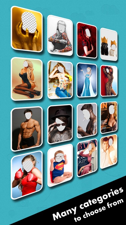 Face Switch Pro - Visage Photo Editor, Change and Replace Yr Head in Pic Frame Hole with Color Filter Effects