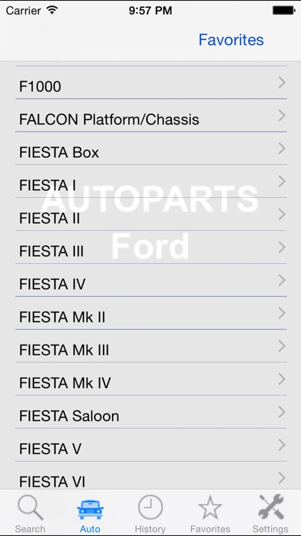 Autoparts for Ford screenshot-3