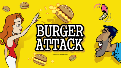 Burger Attack screenshot one
