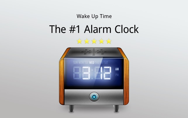 set alarm to wake up mac