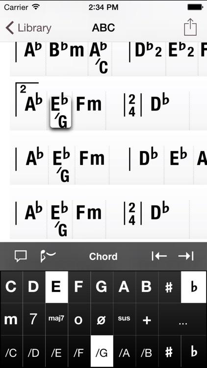 Chord Sheets screenshot-3