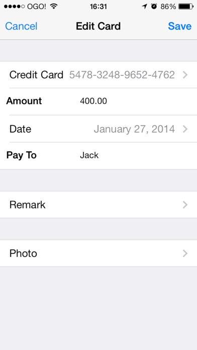 Credit Cards And Cheques Keeper With Backup iPhone
