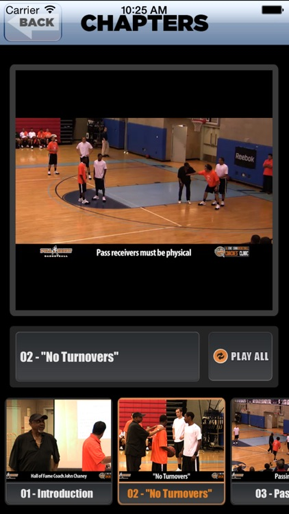 """ No Turnovers "" : A Championship Coaching Philosophy - With Coach John Chaney- Full Court Basketball Training Instruction screenshot-3"