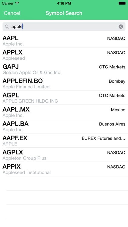 Speak It - Stocks : Have your stock info read to you screenshot-3