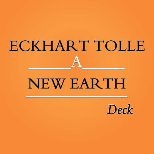 Eckhart Tolle: New Earth Card Deck