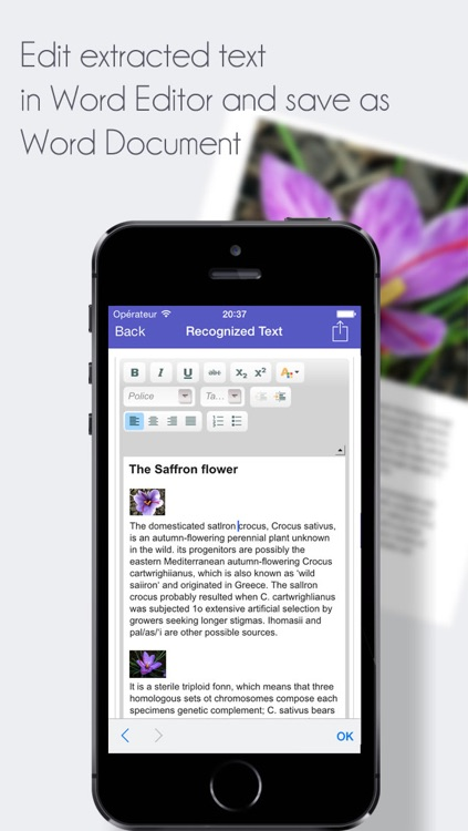 TextExtractor Scanner Pro - Scan PDF and Extract Text as Word Documents