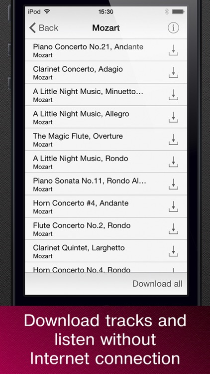 Masterpieces of classical music. screenshot-3