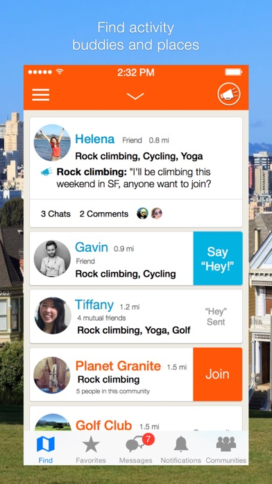 VentureOut - Find Enthusiasts screenshot two