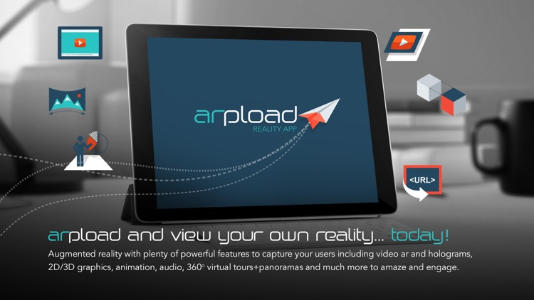 arpload - augmented reality application