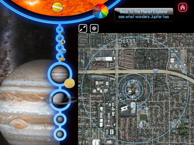 Size the Solar System screenshot-0