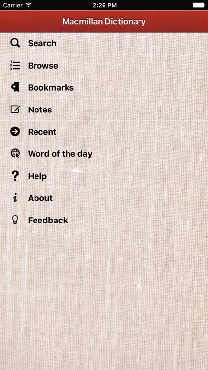 Macmillan Pocket Dictionary