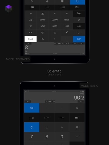 Calculator³: 3-in-1 Scientific, Graphing and Programmer Calculator Screenshot