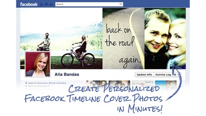 download Timeline Cover Photo Maker Pro - Design and create your own custom Facebook profile page covers that reflects your personality! apps 4