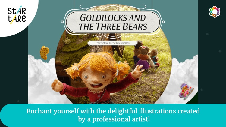 Goldilocks and the Three Bears : Star Tale - Interactive Fairy Tale Series for Kids