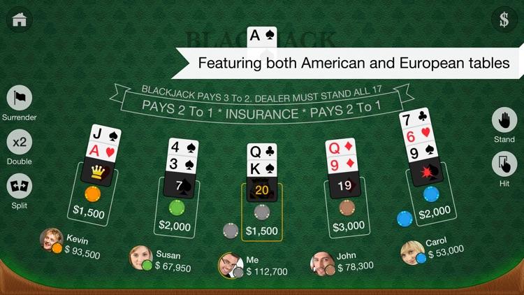 Blackjack Multiplayer screenshot-3