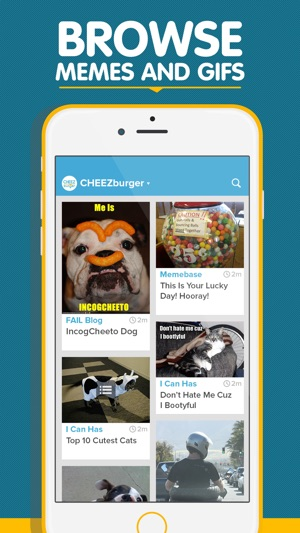 Cheezburger Funny Memes Videos Pics And Gifs On The App Store