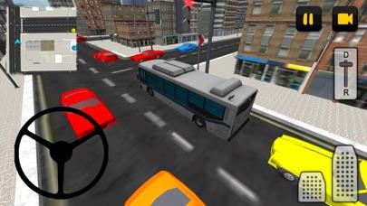 Bus Driver 3D: City screenshot two