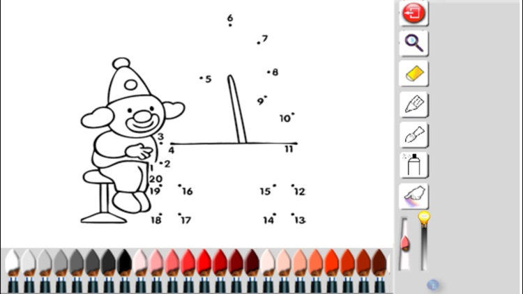 Drawing by numbers (points) for children screenshot-3