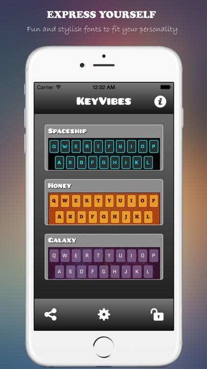 KeyVibes - Color Keyboards and Custom Themes screenshot-3