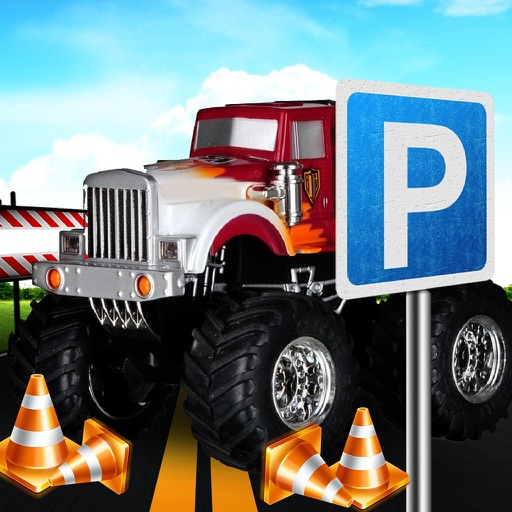 Massive 3D Monster truck Parking Simulator