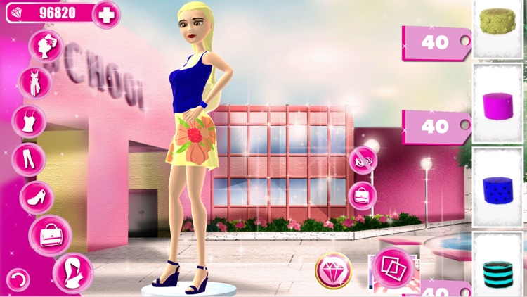 Dress Up Game for Teen Girls: Back to School! Fantasy High Fashion & Beauty Makeover screenshot-3
