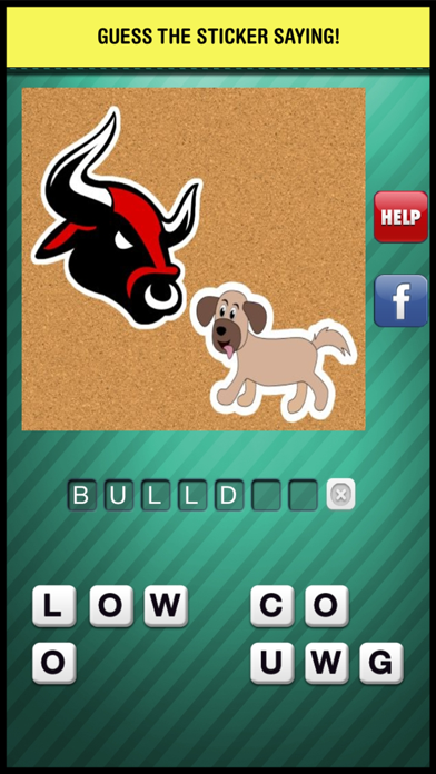 Emoji Guess & Letter Up Icon Pic - find what's the word in this guessing trivia crack pop quiz screenshot one