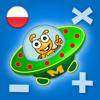Zabawna gra matematyczna dla dzieci: dodawanie, odejmowanie, mnożenie, dzielenie