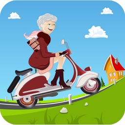 Granny's Race - The Angry Bike Run With Gran Smith