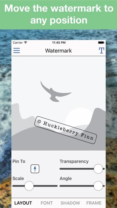 Batch Photo Watermark screenshot three