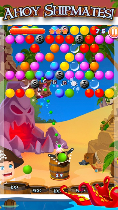 Bubble Land Pirates: Junior King Treasure Shooter