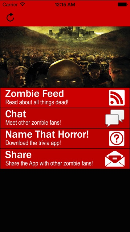Zombie RSS Feed by Grey Matter Marketing, LLC