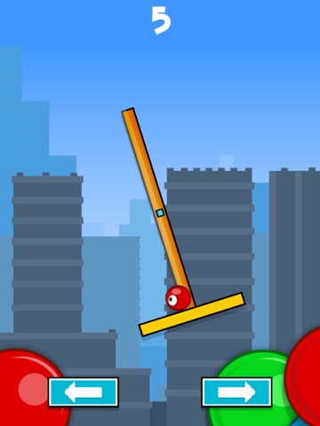 Flick & Swing vs Red Ball FREE-ipad-1