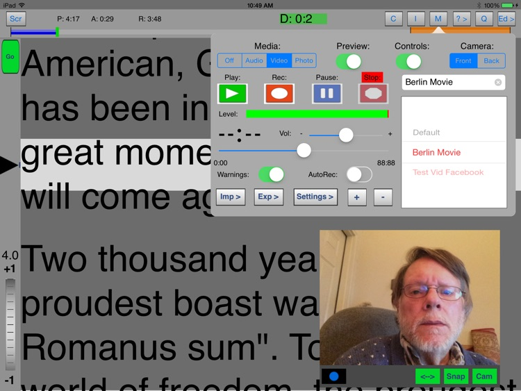 iQPrompter screenshot-1