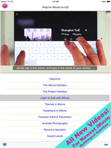 Prep for iMovie for iOS Screenshot 2