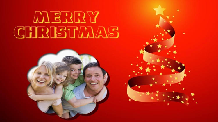 Christmas Photo Frames Deluxe screenshot-3