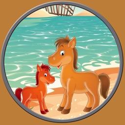 lovely horses for kids - no ads