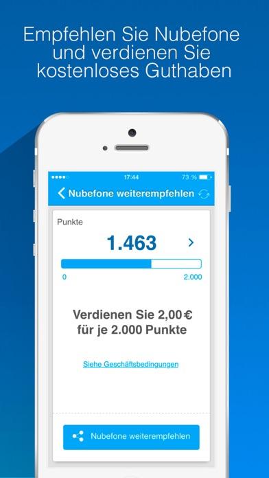 Nubefone: Billige internationale und lokale AnrufeScreenshot von 4