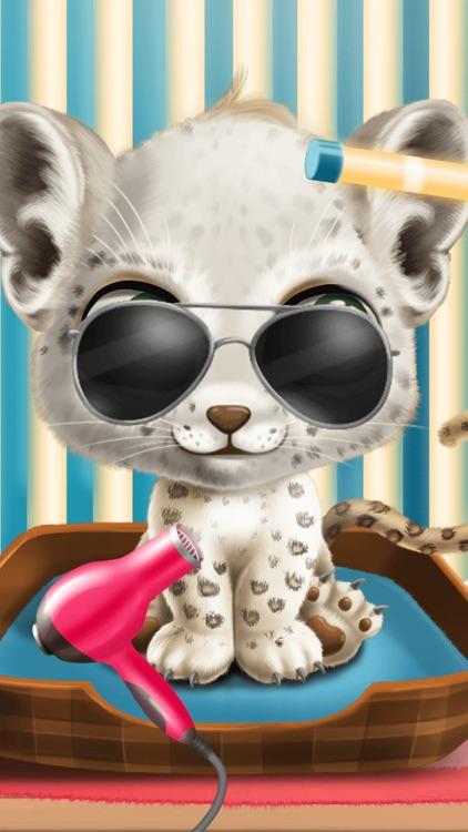 Baby Jungle Animal Hair Salon - No Ads screenshot-3