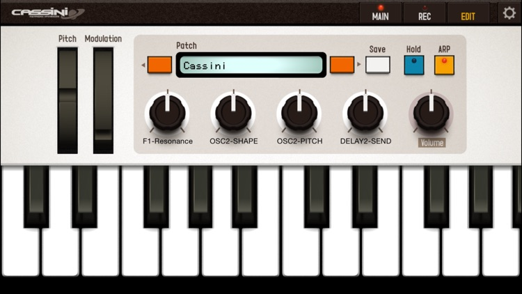 CASSINI Synthesizer for iPhone screenshot-4