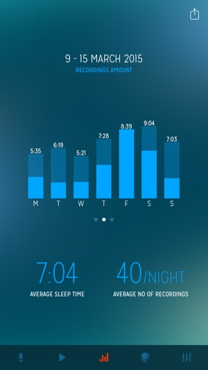 Sleep Talk Recorder Screenshot