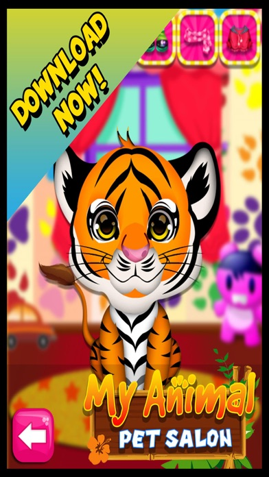 My Cute Pet Animal Fashion Salon & Spa - Free Makeover Games For Kids screenshot four